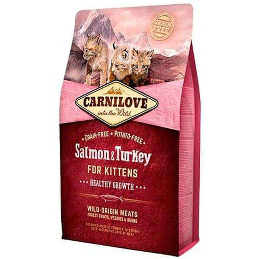 Carnilove Salmon & Turkey Kitten Grain Free Dry Cat Food