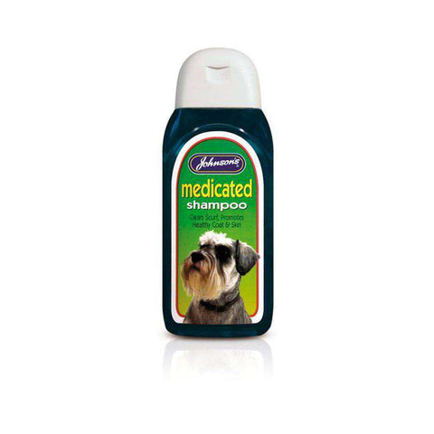 Johnson's Medicated Dog Shampoo 200ml