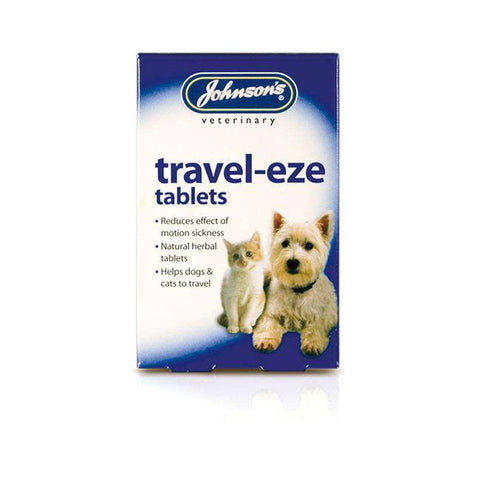 Johnsons Travel-Eze Tablets for dogs and Cats