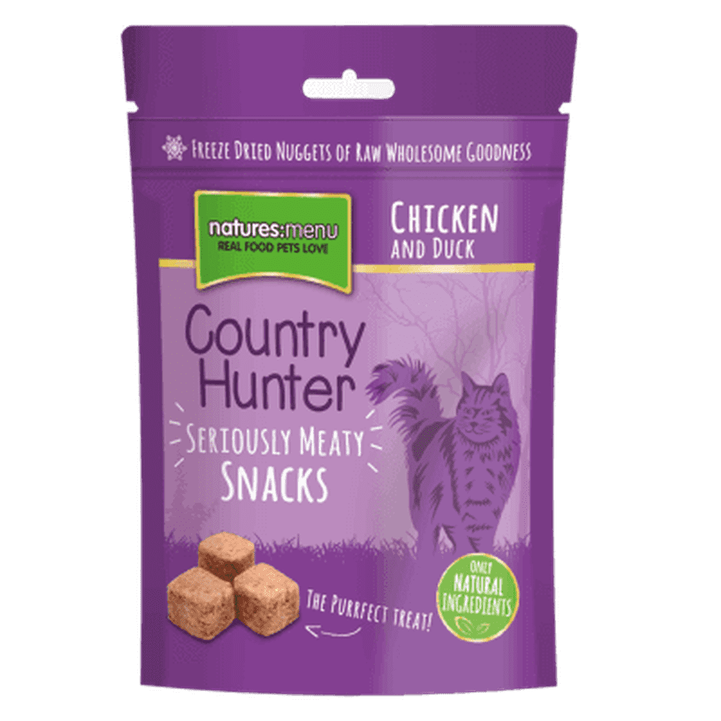 Natures Menu Freeze Dried Cat Snacks Chicken & Duck 40g Cat Treat-Cat Treats-Natures Menu-Dofos Pet Centre