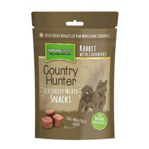 Freeze Dried Dog Snacks Rabbit with Cranberry