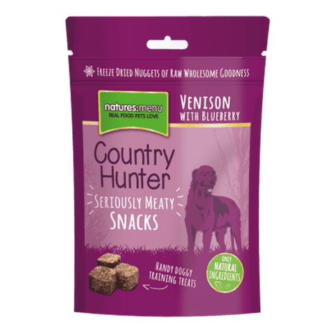 Freeze Dried Dog Snacks Venison with Blueberry