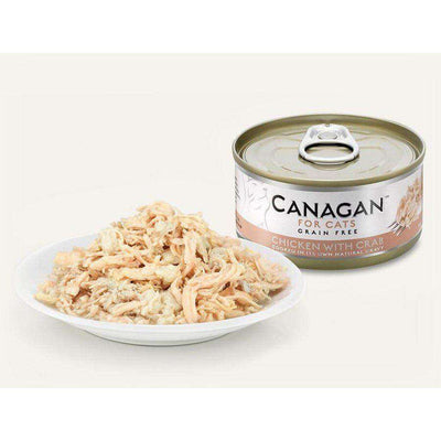 Canagan Chicken With Crab Can Cat Wet Food 75g