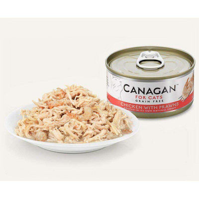 Canagan Chicken With Prawn Can Cat Wet Food 75g