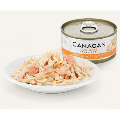 Canagan Chicken With Salmon Can Cat Wet Food 75g