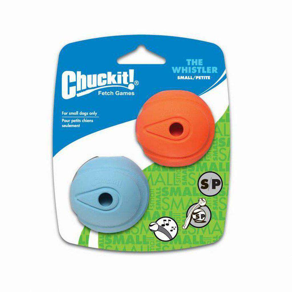 Chuckit! Whistler Ball Dog Toy-Dog Toys-Chuckit-Medium 2 Pack-Dofos Pet Centre