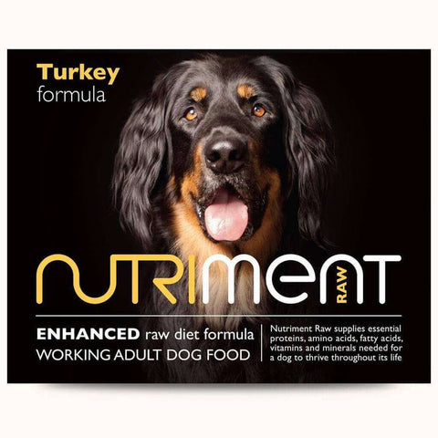Nutriment Turkey Formula Adult Raw Dog Food