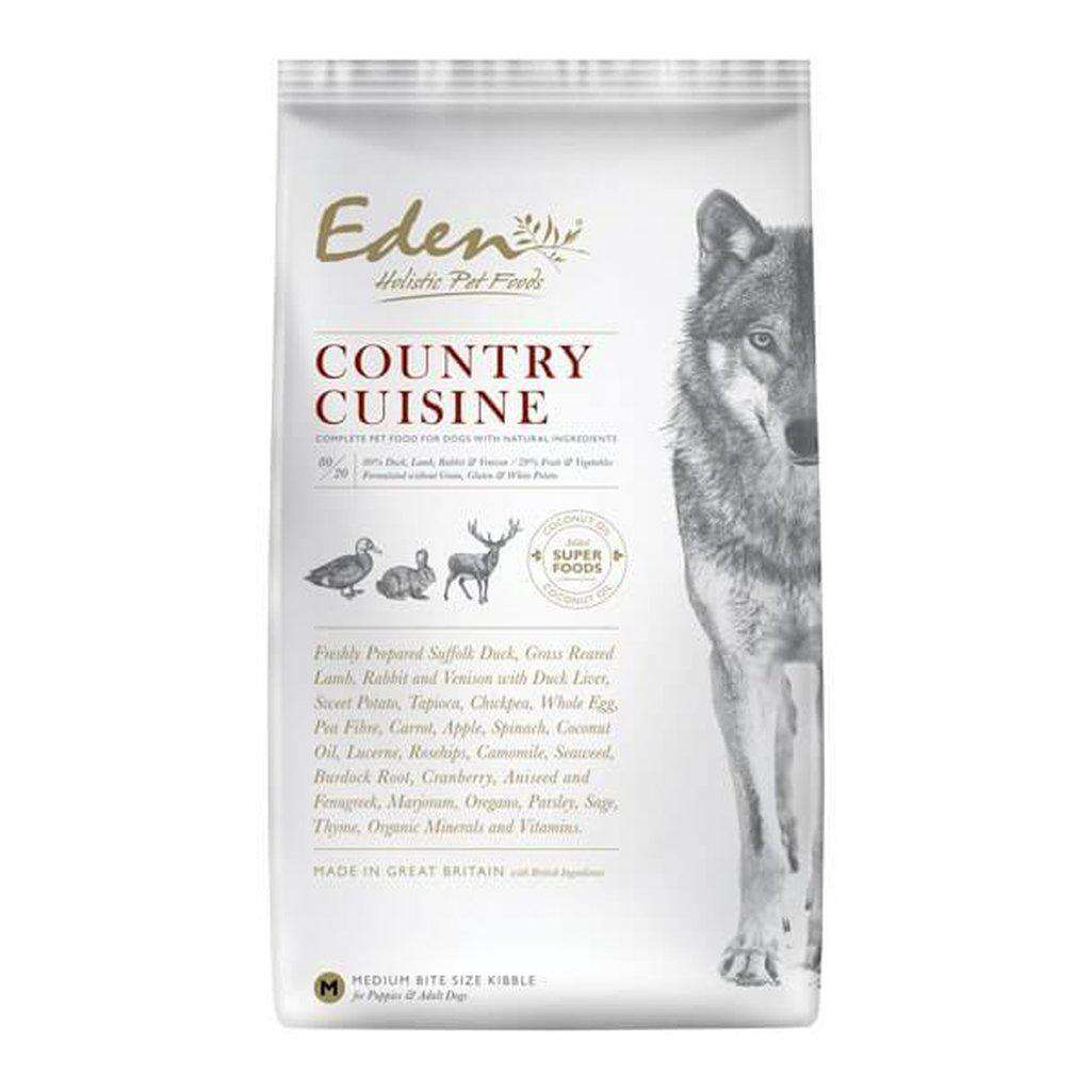 Eden 80/20 Country Cuisine Game Grain Free Dog Food-Dog Dry Food-Eden-Small-2kg-Dofos Pet Centre
