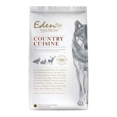 Eden 80/20 Country Cuisine Game Grain Free Dog Food