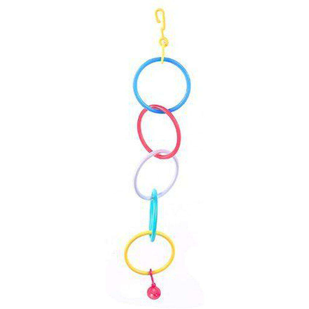 The Bird House Gym Rings Bird Toy-Bird Toys-happy pet-Dofos Pet Centre