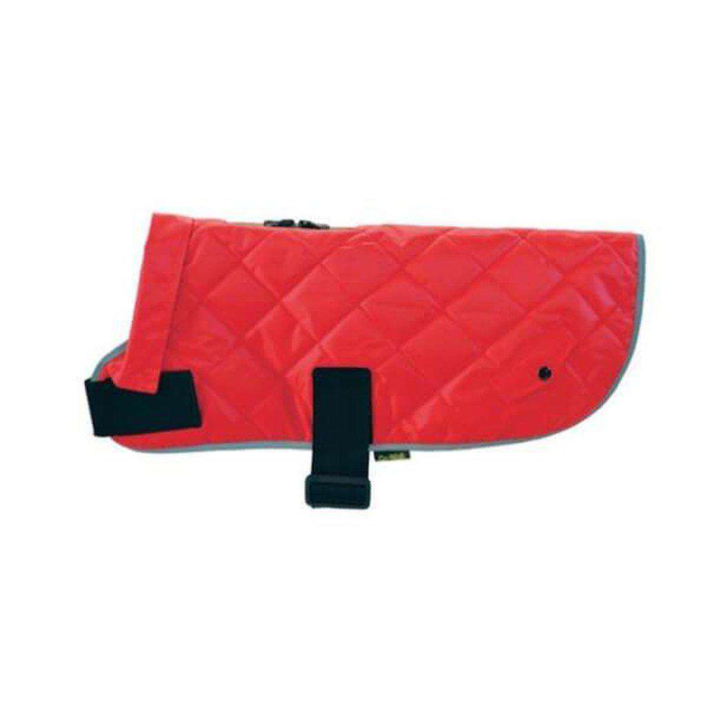 Happy Pet Quilted Classic Dog Coat Red