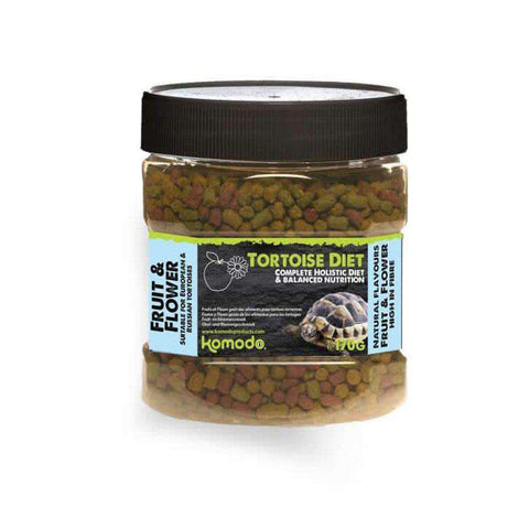 Komodo Fruit & Flower Flavour Tortoise Diet 170g