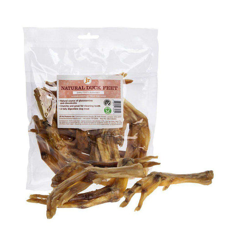 Natural Duck Feet Dog Chew