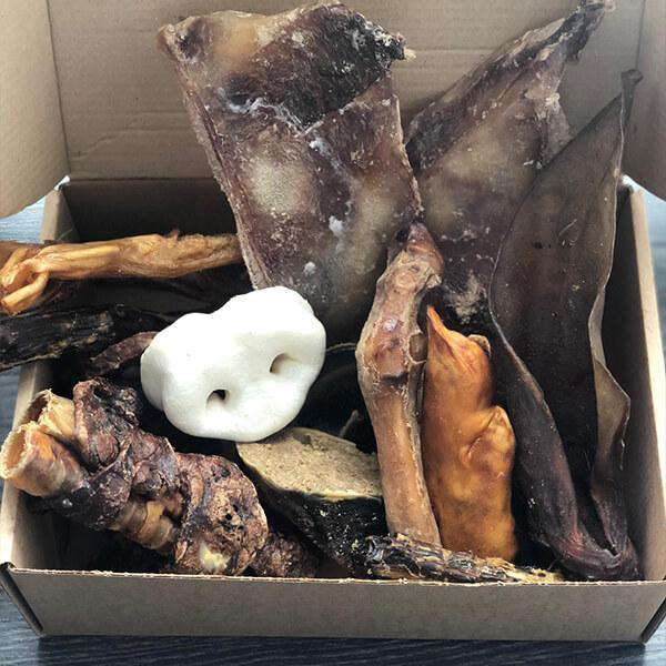 Dog Mystery Natural Treat Box-Dog Treat-Dofos Pet Centre-£10-Dofos Pet Centre