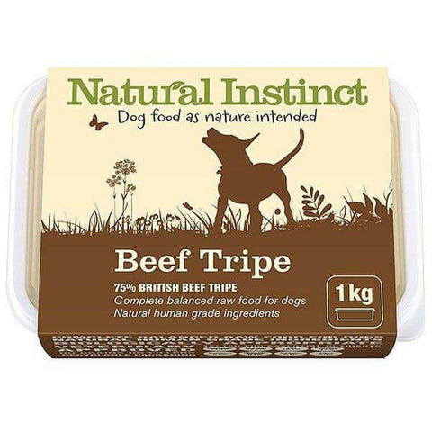 Natural Instinct Natural Beef Tripe Raw Dog Food