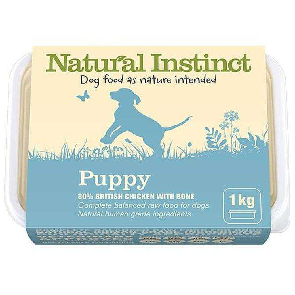 Natural Instinct Natural Puppy (Chicken & Beef Liver) Raw Dog Food-Raw Food-Natural Instinct-1kg-Dofos Pet Centre