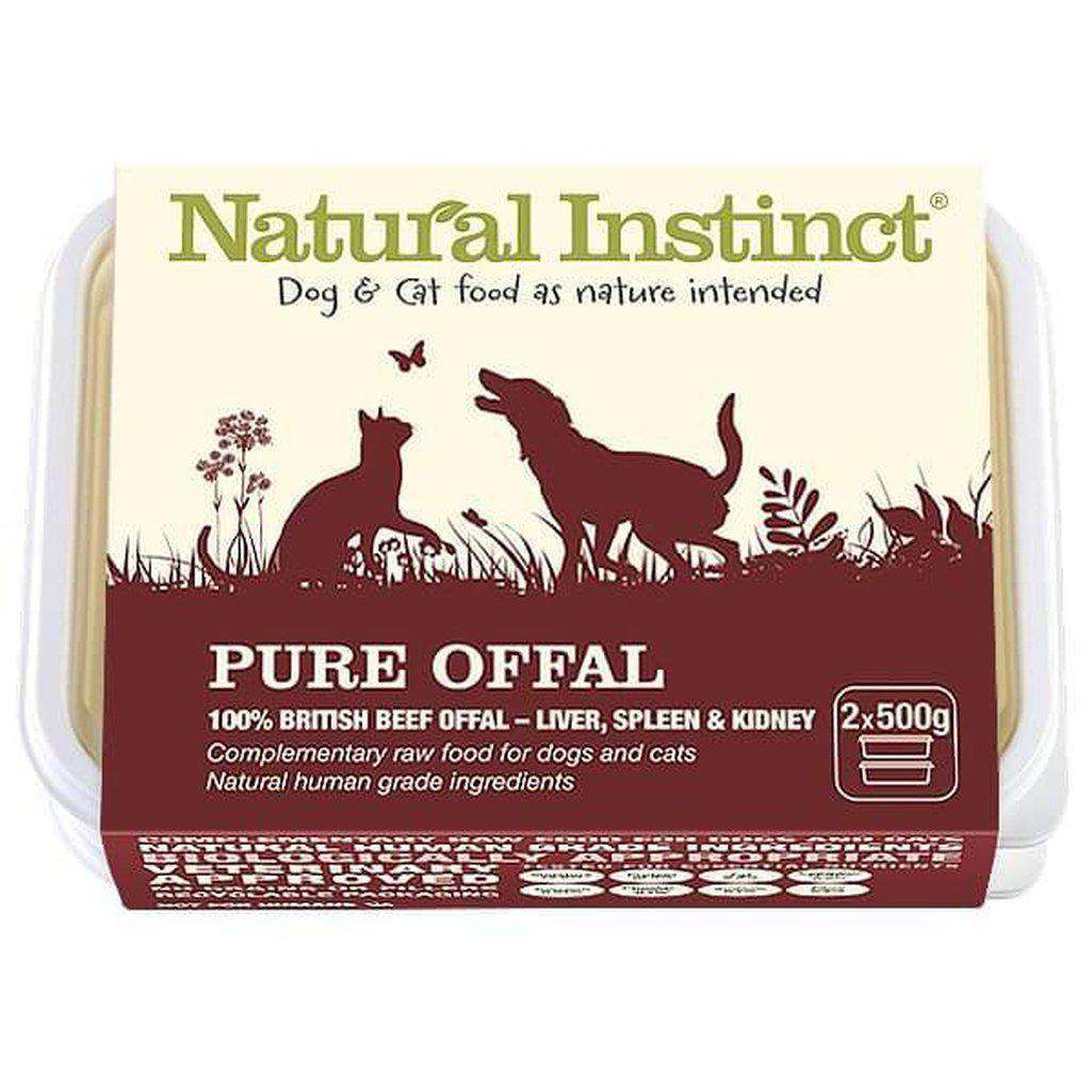 Natural Instinct Pure Offal Raw Dog/Cat Food-Raw Food-Natural Instinct-2x500-Dofos Pet Centre