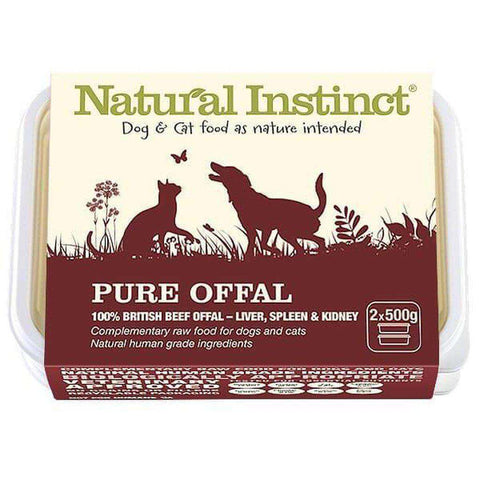 Natural Instinct Pure Offal Raw Dog/Cat Food