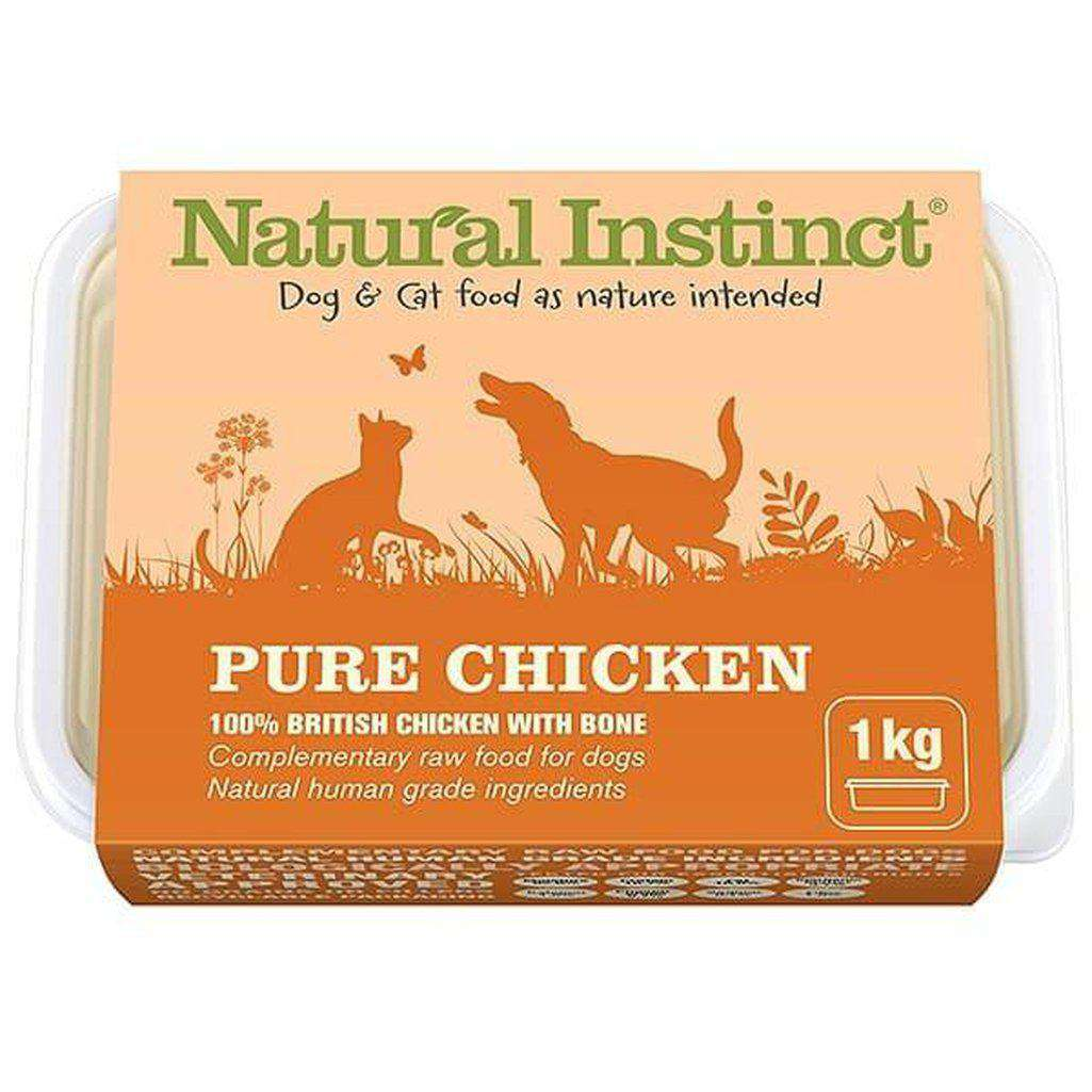 Natural Instinct Pure Chicken Raw Dog/Cat Food-Raw Food-Dofos Pet Centre-2 x 500g-Dofos Pet Centre