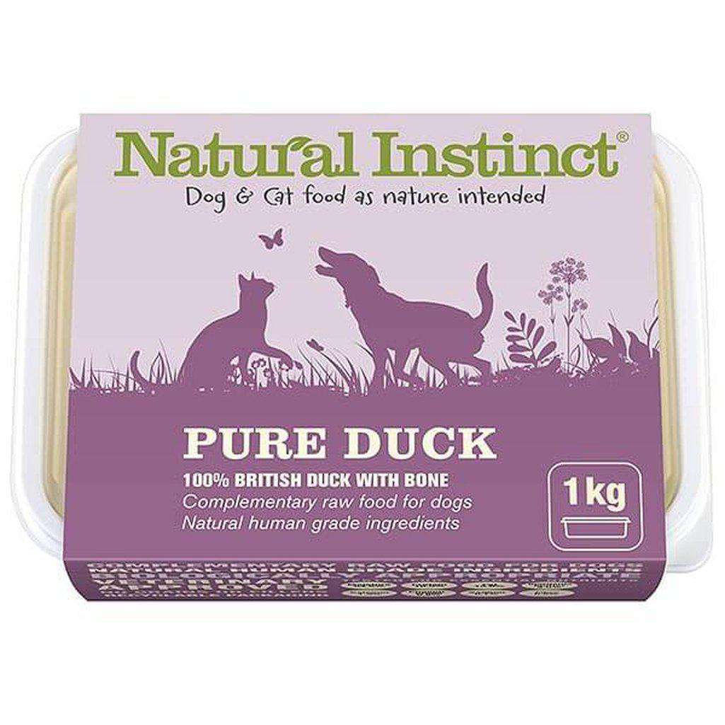 Natural Instinct Pure Duck Raw Dog/Cat Food-Raw Food-Natural Instinct-1kg-Dofos Pet Centre