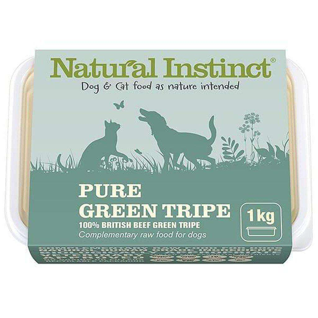 Natural Instinct Pure Green Tripe Raw Dog/Cat Food-Raw Food-Natural Instinct-1kg-Dofos Pet Centre