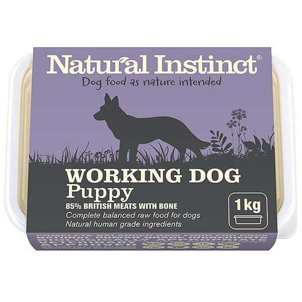 Natural Instinct Working Dog Puppy Raw Dog Food-Raw Food-Natural Instinct-1kg-Dofos Pet Centre