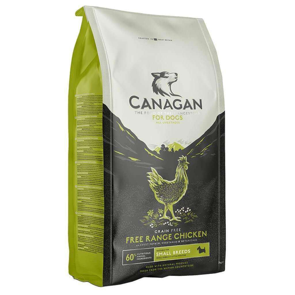 Canagan Small Breed Free Run Chicken Grain Free Dog Food-Dog Dry Food-Canagan-2kg-Dofos Pet Centre