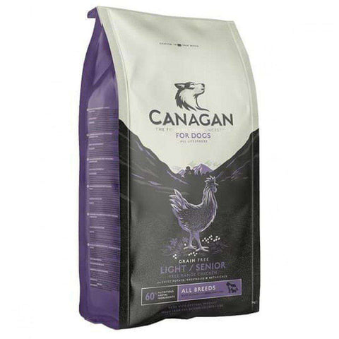 Canagan Light/Senior Free Run Chicken Grain Free Dog Food