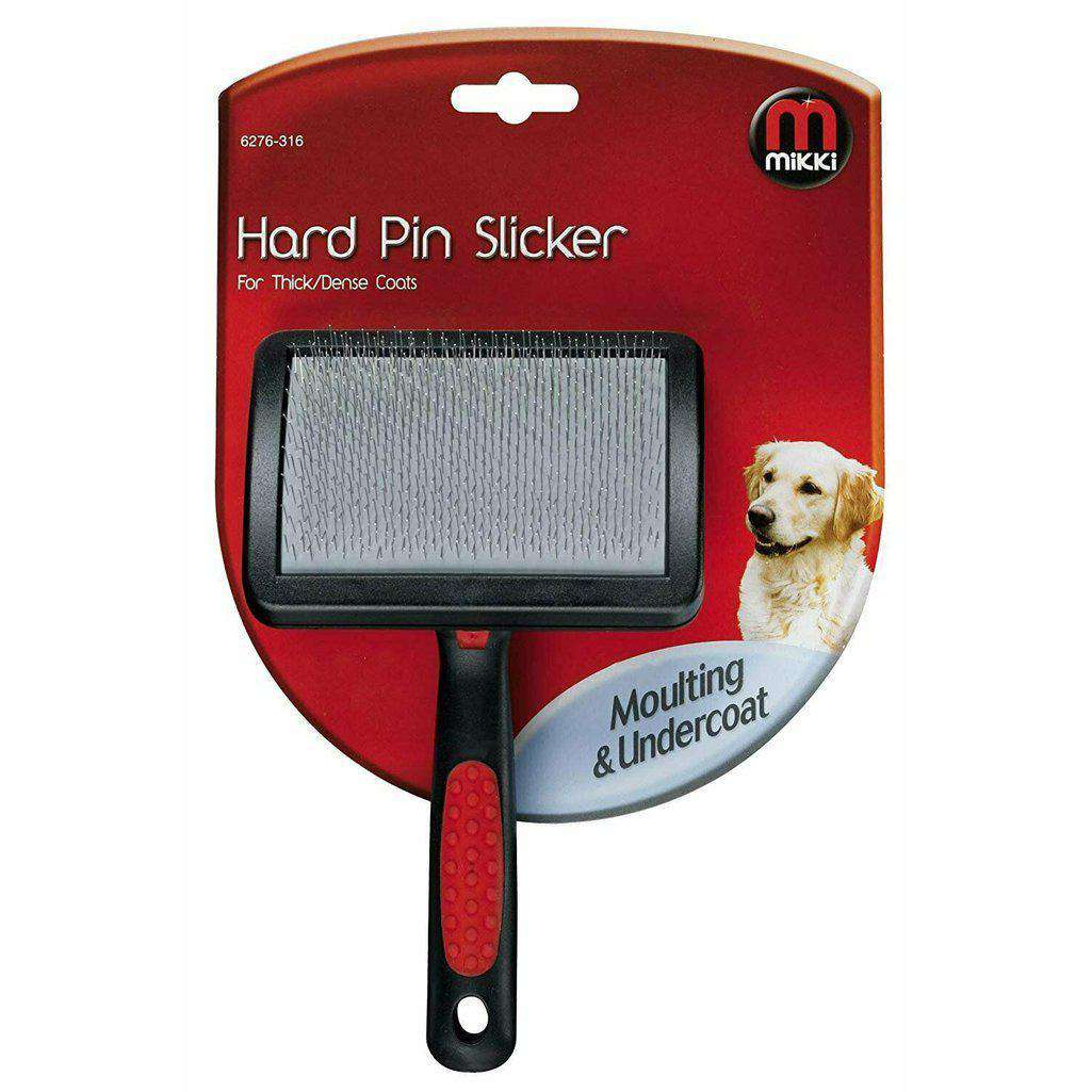 Mikki Hard Pin Slicker For Thick Coats-Dog Grooming-Mikki-Small-Dofos Pet Centre