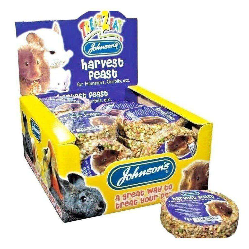Johnsons Harvest Feast Treat-Small Animal Treats-Johnsons-Dofos Pet Centre