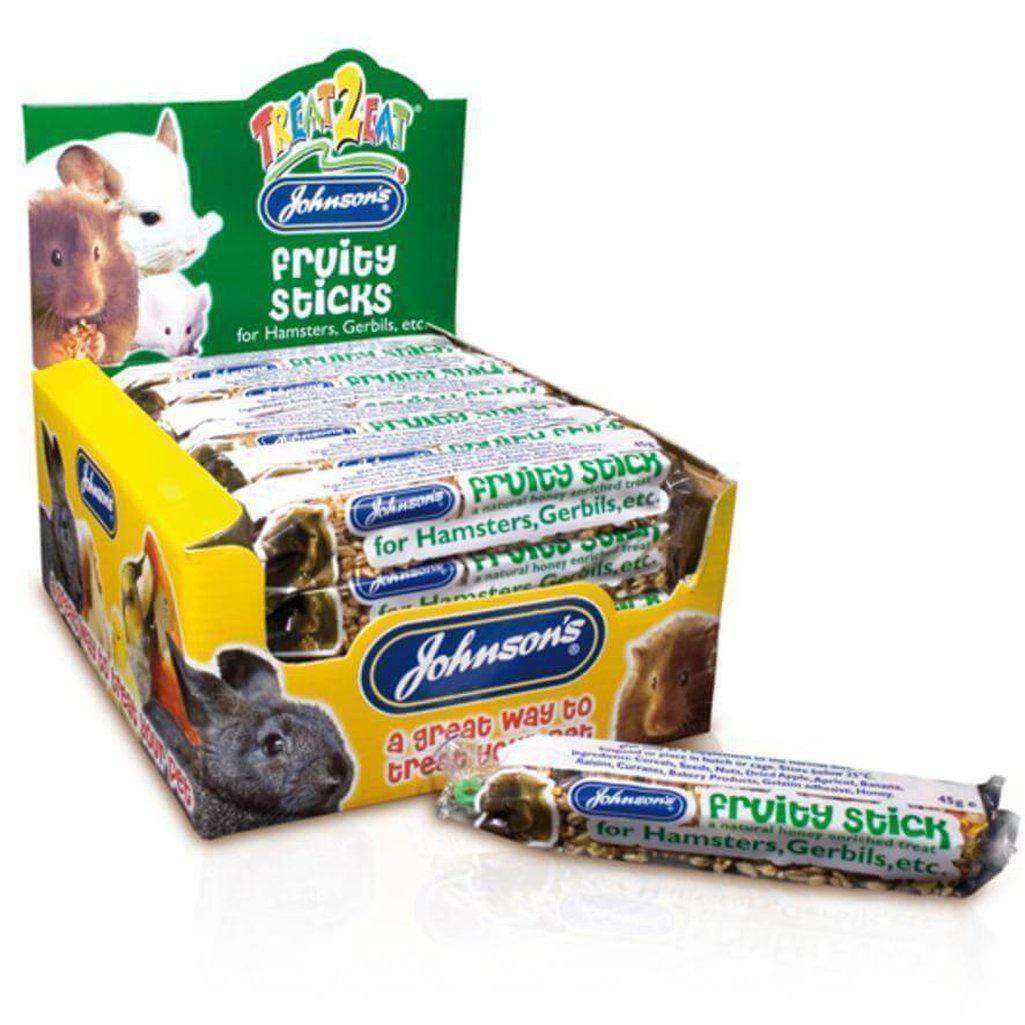 Johnsons Hamster Fruity Stick-Small Animal Treats-Johnsons-Dofos Pet Centre