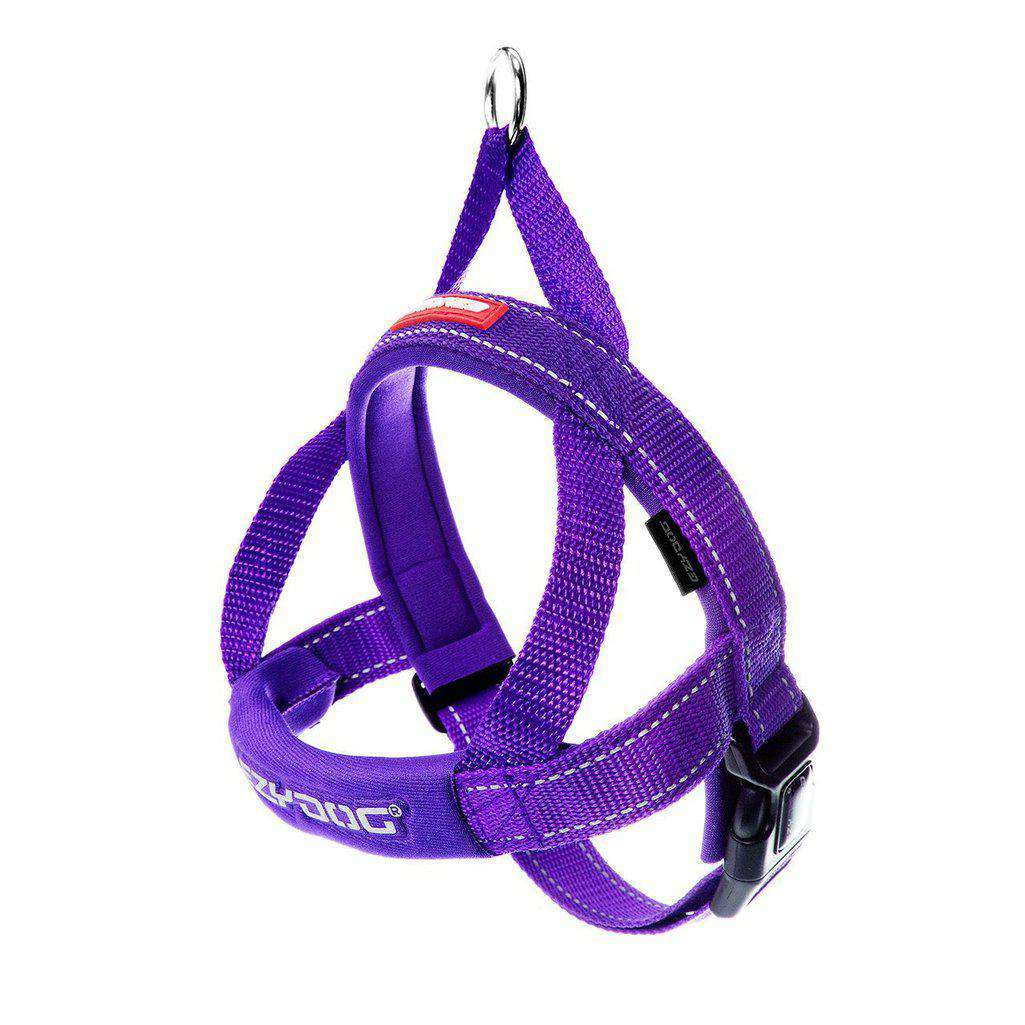 EzyDog Quick Fit Harness - All Colours-Dog Harness-Ezydog-Xs-Purple-Dofos Pet Centre