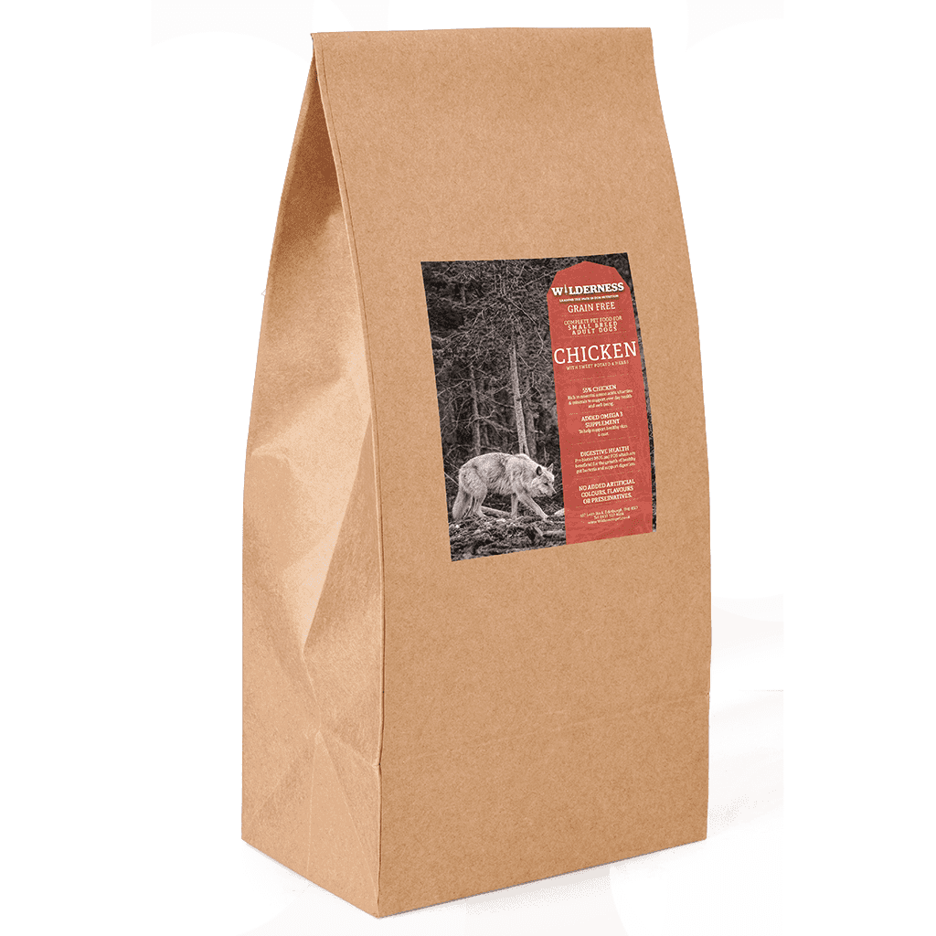 Wild Chicken Small Breed Adult Grain Free-Dry Dog Food-Wilderness-2kg-Dofos Pet Centre