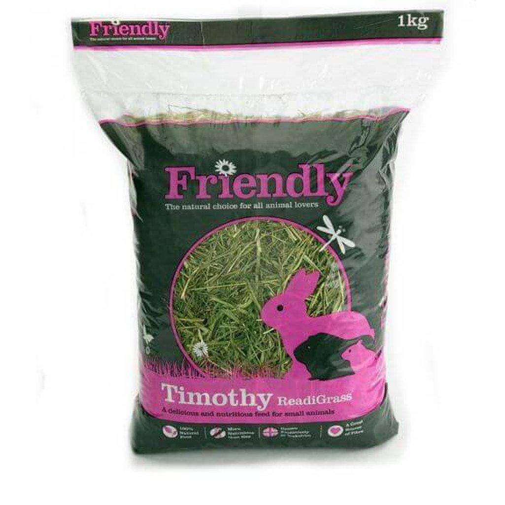 Friendly Timothy ReadiGrass 1kg-Small Animal Bedding-Readigrass-Dofos Pet Centre