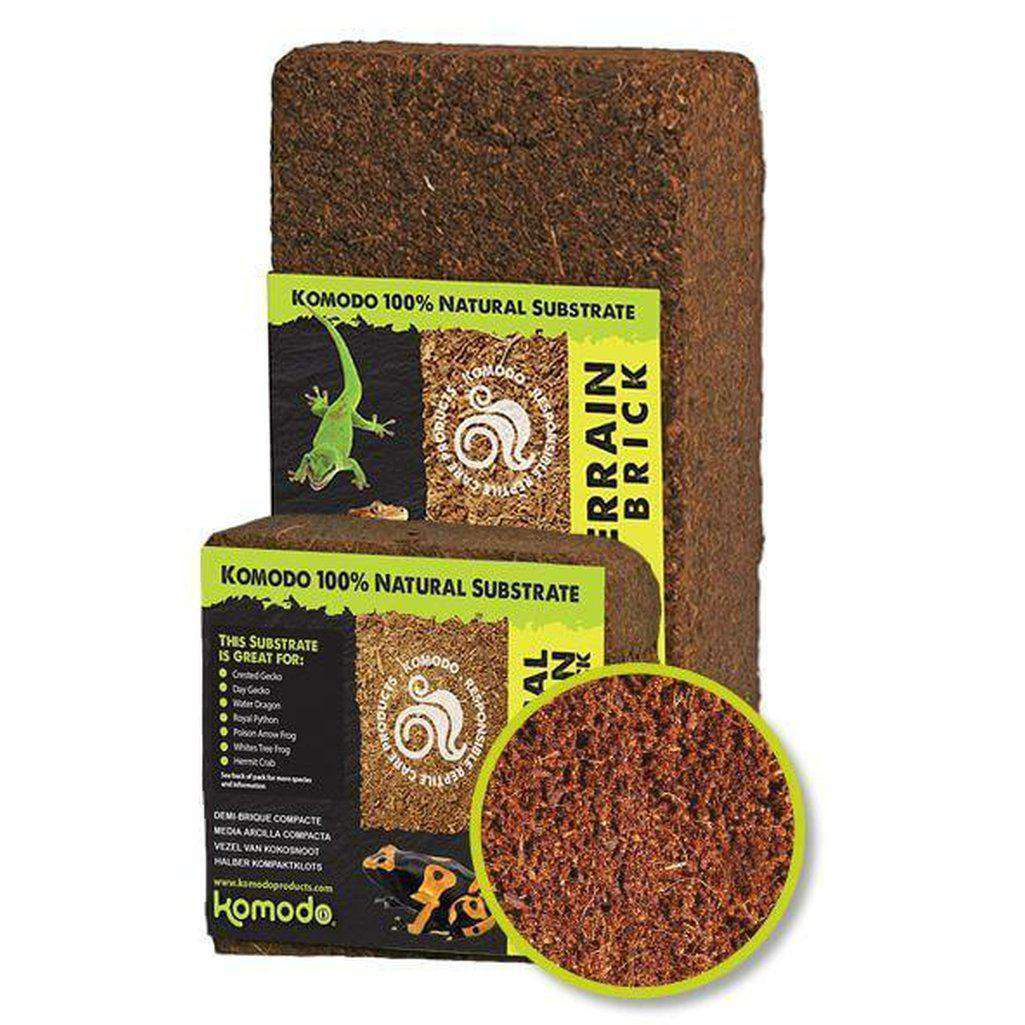 Komodo Tropical Terrain Compact Brick-Reptile Substrates-Dofos Pet Centre-Small-Dofos Pet Centre