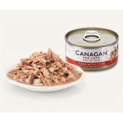 Canagan Tuna With Crab Can Cat Wet Food 75g