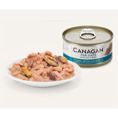 Canagan Tuna With Mussels Can Cat Wet Food 75g