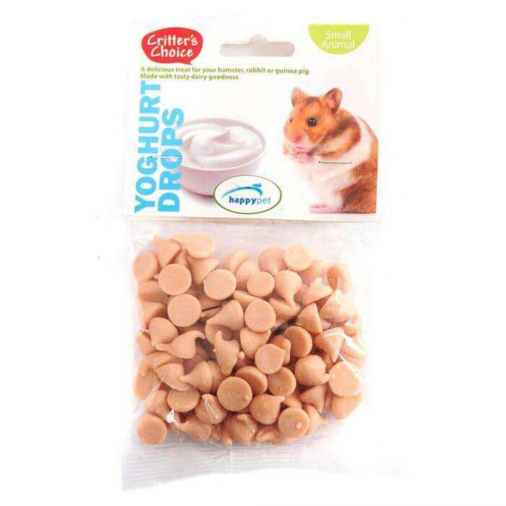 Critter's Choice Yoghurt Drops 75g-Small Animal Treats-Critter's Choice-Dofos Pet Centre