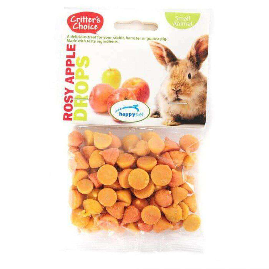 Critter's Choice Rosey Apple Drops 75g-Small Animal Treats-Critter's Choice-Dofos Pet Centre