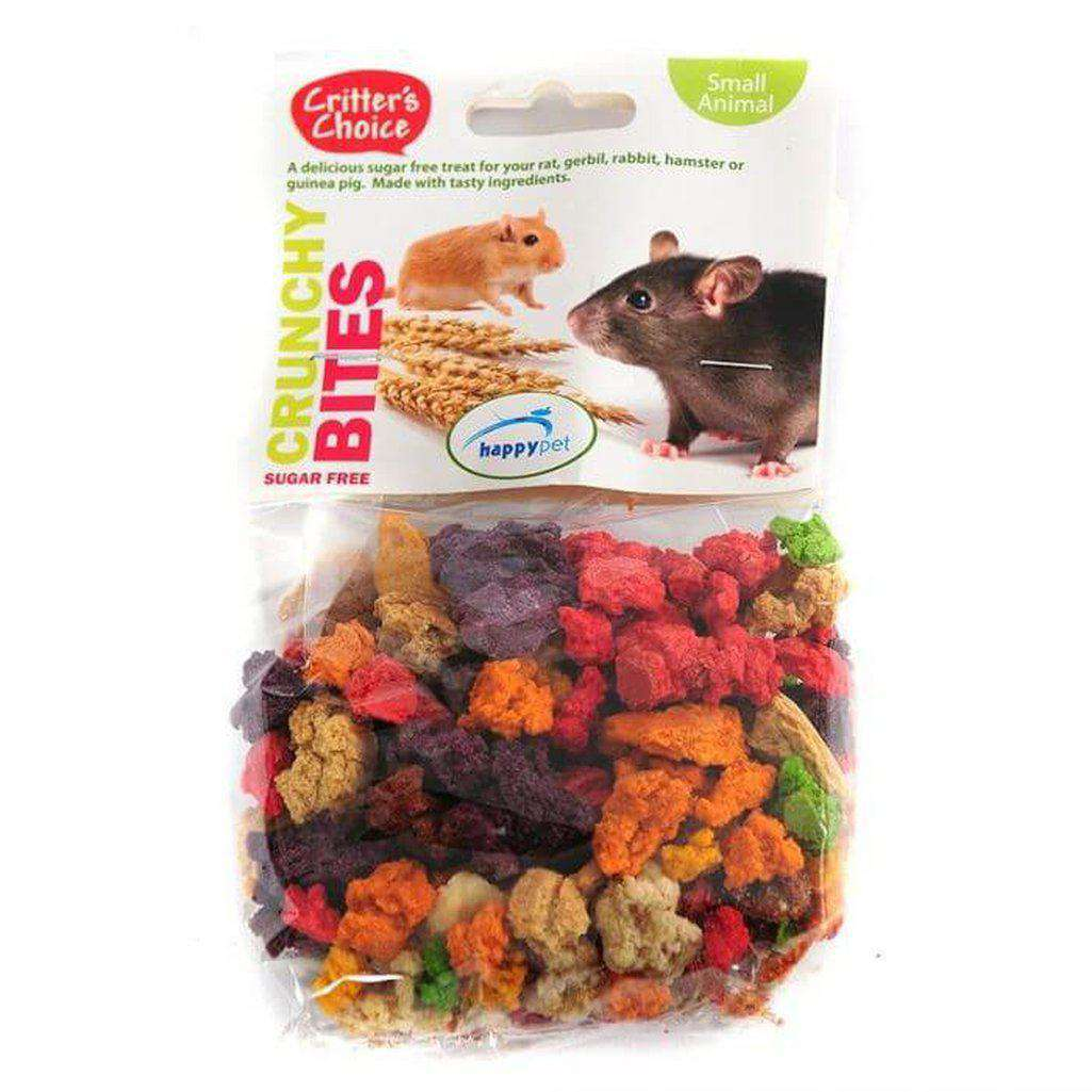 Critter's Choice Crunchy Bites 100g-Small Animal Treats-Critter's Choice-Dofos Pet Centre