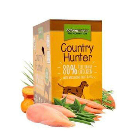 Natures Menu Country Hunter Free Range Chicken Dog Food Pouch