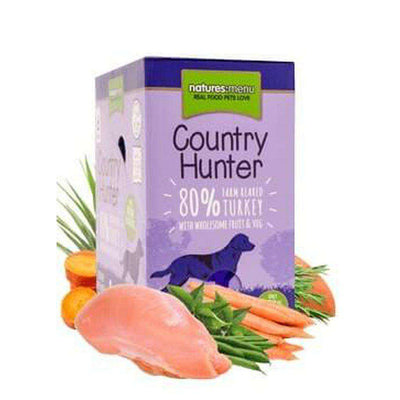 Natures Menu Country Hunter Farm Reared Turkey Dog Food Pouch