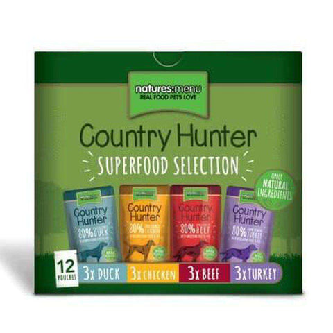 Natures Menu Superfood Selection Pouches for Dogs 12x 150g