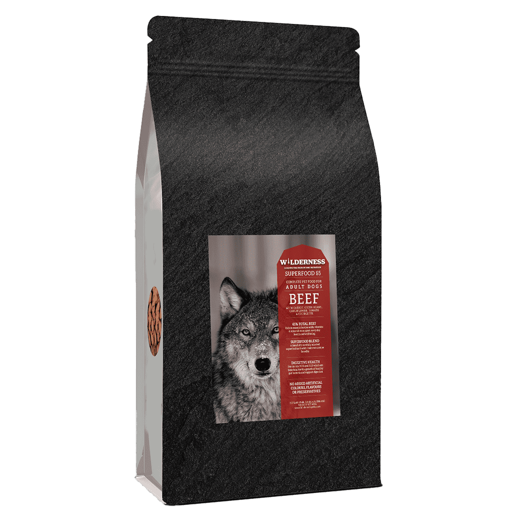 Wild 65 Beef With Superfoods Adult Grain Free-Dry Dog Food-Wilderness-2kg-Dofos Pet Centre