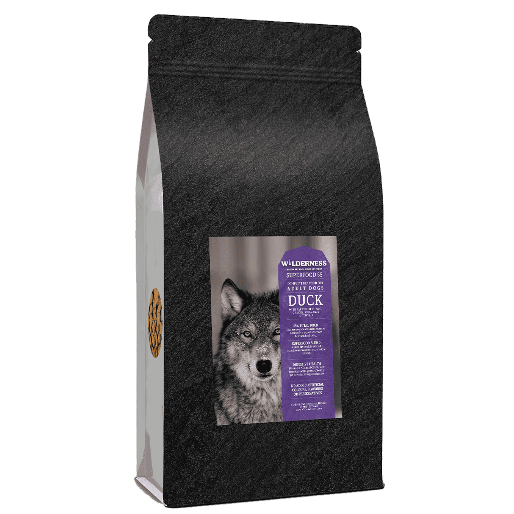 Wild 65 Duck With Superfoods Adult Grain Free-Dry Dog Food-Wilderness-2kg-Dofos Pet Centre
