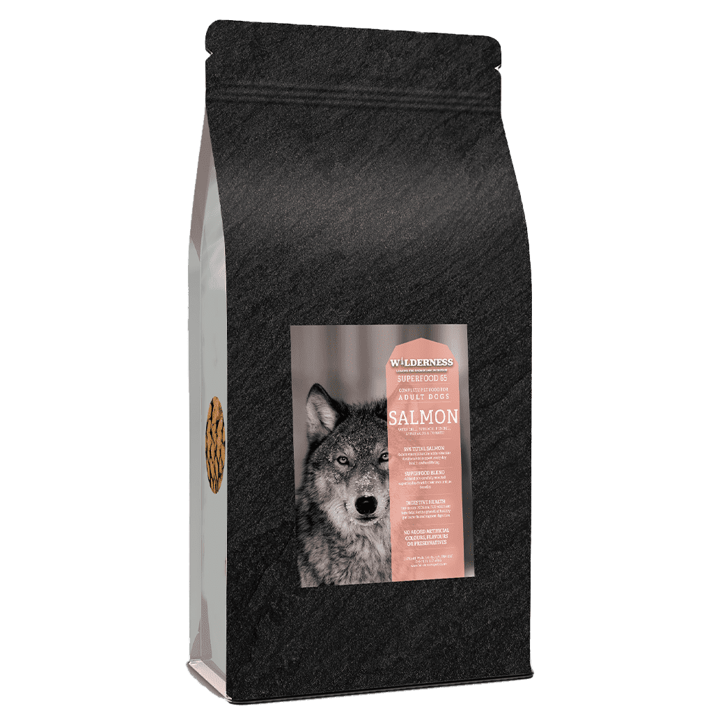Wild 65 Salmon With Superfoods Adult Grain Free-Dry Dog Food-Wilderness-2kg-Dofos Pet Centre