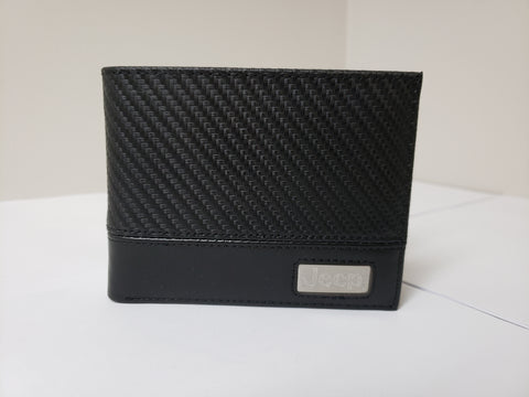 Black Wallet with Jeep logo on Front CLEARANCE