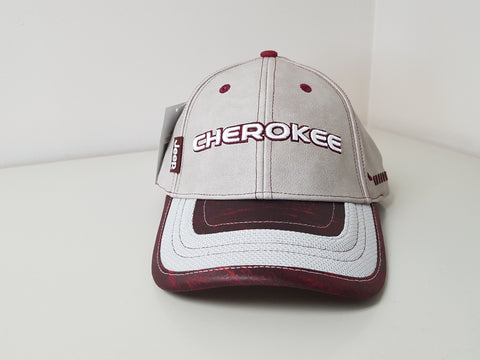 Jeep Cherokee Burgundy Baseball Cap CLEARANCE