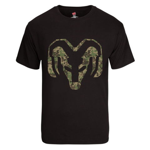 New RAM Trucks Logo in Camo T-Shirt | Available in 6 Colors