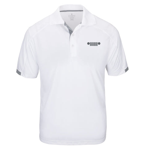 Jeep Grill Logo Golf Polo Shirt